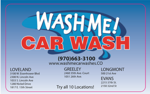 Wash Me! Wash Cards | The best gift to get your car!